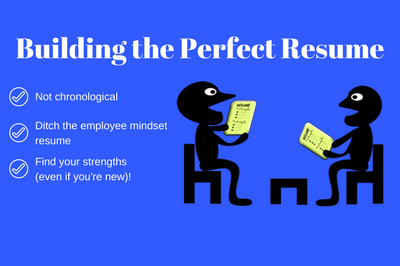 building the perfect resume success by rx